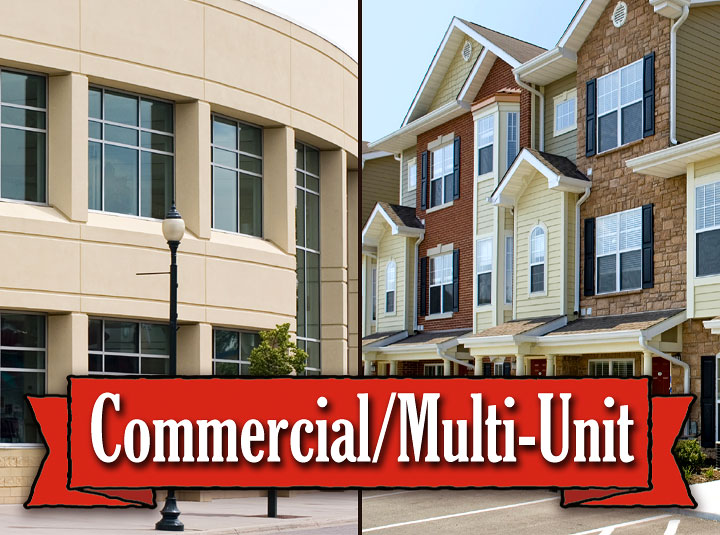 Commercial and Multi-Unit Pressure Washing Services in the