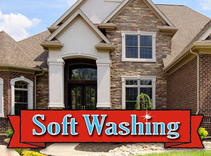 Soft House Washing Concrete Pressure Washing And More In San Antonio Tx